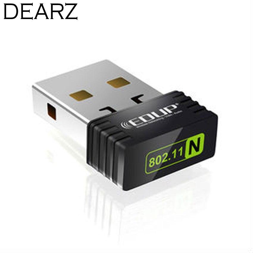EDUP-N8530 150M Mini USB wireless network card WiFi signal transmitter /receiver desktop WLAN USB Adapter for Nano free shipping