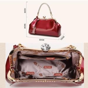 Image 4 - ZENBEFE Drop Shipping torby wieczorowe torebki damskie ze skóry lakierowanej moda damska torby na ramię damskie torby na przyjęcie weselne