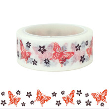 20pcs/set Butterfly Washi Tape Valentines Day DIY Decorative Hand Paper Manufacturer Wholesale