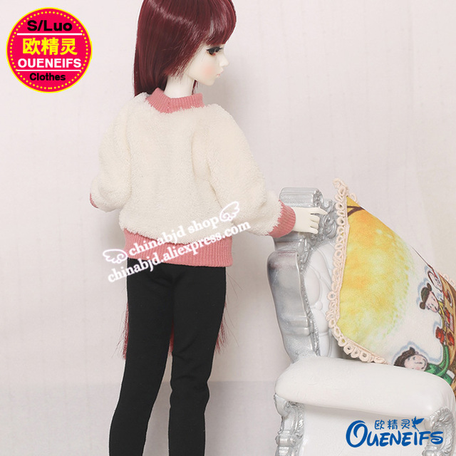 OUENEIFS free shipping ,Autumn or winter sweater,pants or A full suit of clothes,1/4 bjd/sd doll clothes,no doll or wig YF4-167 3