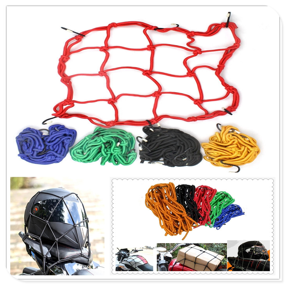 Automobiles & Motorcycles Motorcycle Universal Bag Helmet Universal Baggage Bicycle Luggage Cargo Net Cover For Ducati Sled 950 Yamaha Wr250r X Serow225