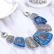 Hesiod массивное ожерелье, новинка, винтажное ювелирное изделие, серебро, золото, сплав, смола, бусина, колье, ожерелье, модное, бижутерия, ожерелье для женщин