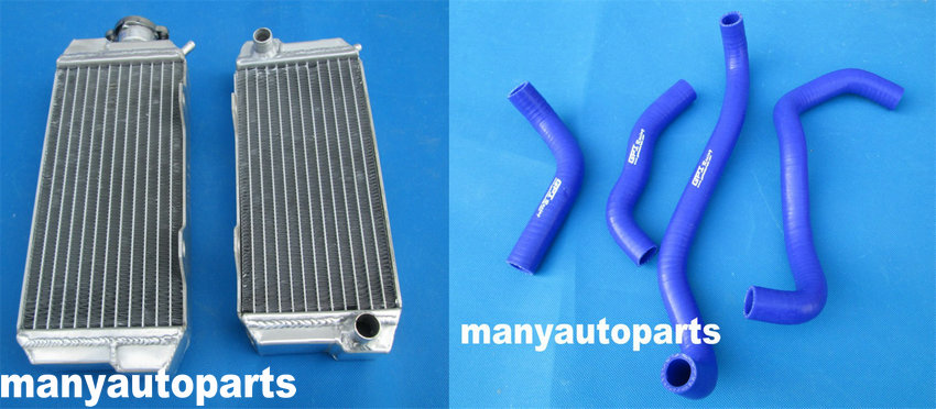 For HONDA ATC250R ATC 250R 85 86 1985 1986 Aluminum radiator hose  BLUE