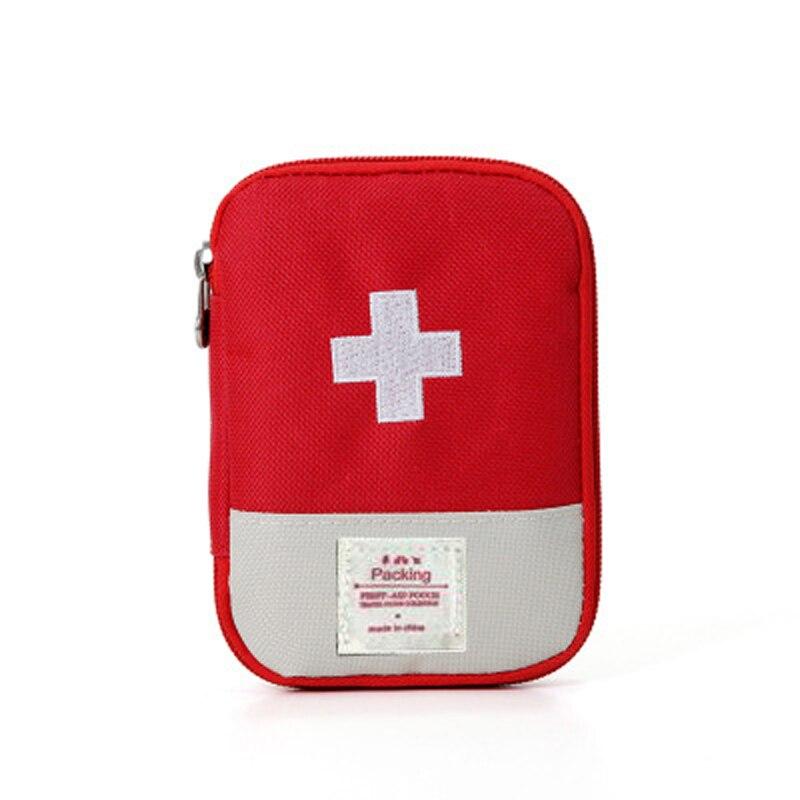 Travel Pill Box Mini Empty First Aid Kit Home Medicine Bag Emergency Kit Bags Survival Travel Drugs Box/Bag Case