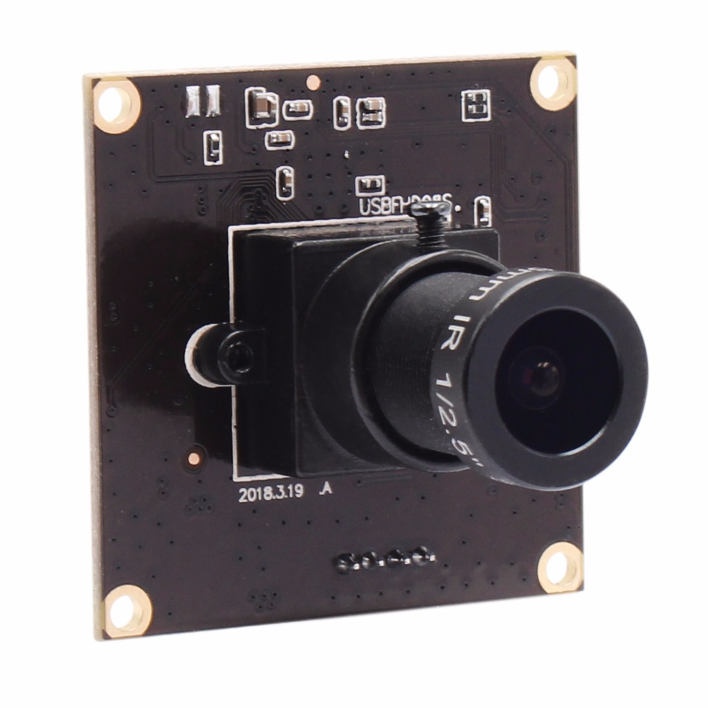 цена MJPEG 260fps 640X360 USB Camera Module CMOS OV4689 Full HD Mini camera module Windows Android Linux MAC 1080P USB Webcam
