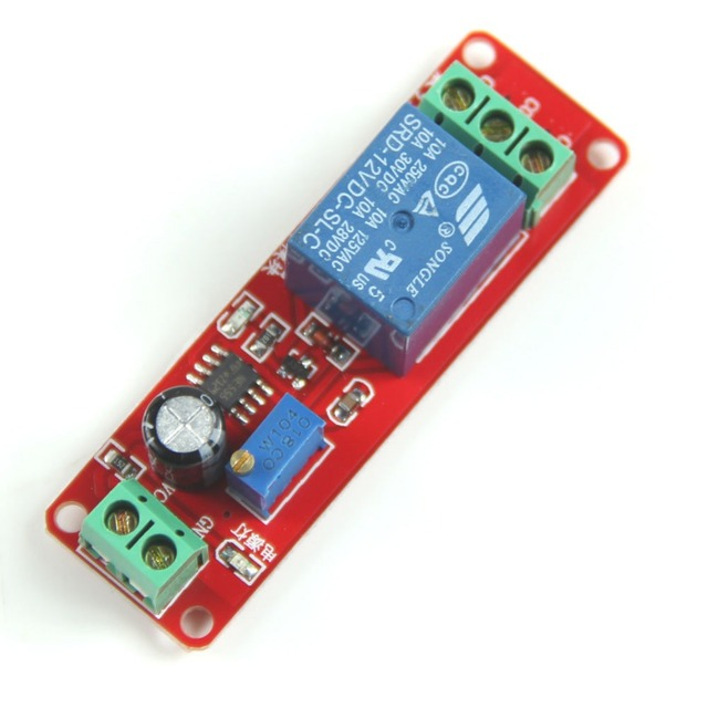 7a473cf4b9c Free Shipping!!! New DC 12V Delay Timer Switch Adjustable Module 0 to 10  Second Promotion VE276 P