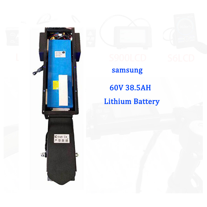 <font><b>Samsung</b></font> <font><b>60V</b></font> 38.5AH Lithium Battery for 60V5000W Electric Scooter Skateboard Longboard Adult Foldable Electric Scooter E Scooter image