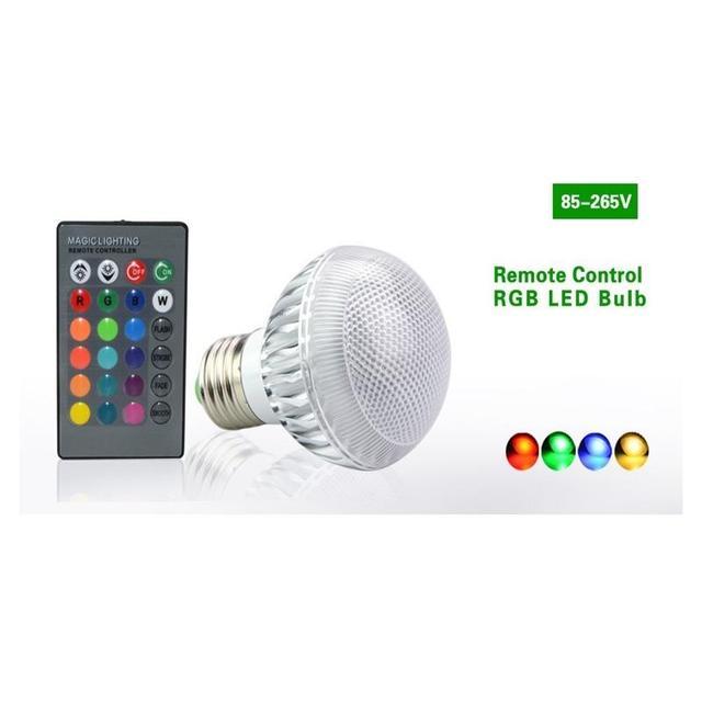 LumiParty RGB LED Lamp Verwisselbare Lamp meerdere kleur met ...