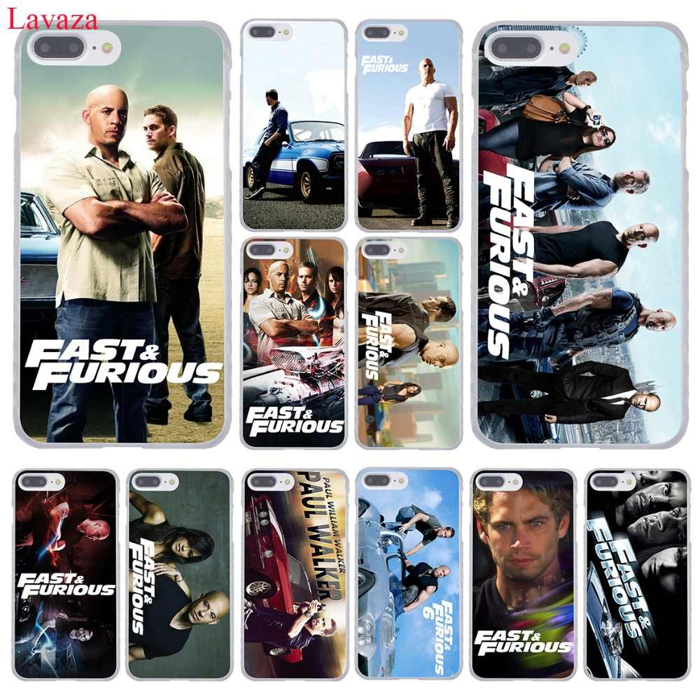 Lavaza Fast & Furious en Paul Walker Telefoon Case voor Apple iPhone XR XS Max X 8 7 6 6 s Plus 5 5 s SE 5C 4 s 10 Cover 8 Plus Gevallen