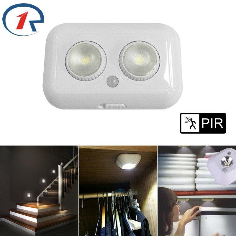 ZjRight LED wall Lamps PIR Motion Sensor