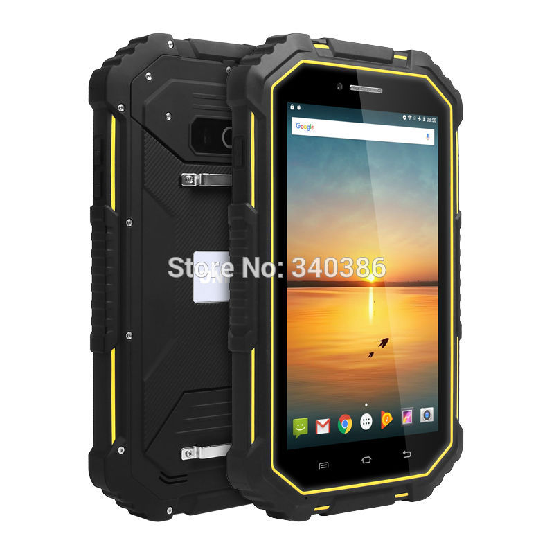 UNIWA HV2 4G 7 Inch Tablet <font><b>Smartphone</b></font> 2GB RAM 16GB ROM Mobile Phone Android 6.0 Quad Core IP67 Waterproof Rugged Cellphone NFC image
