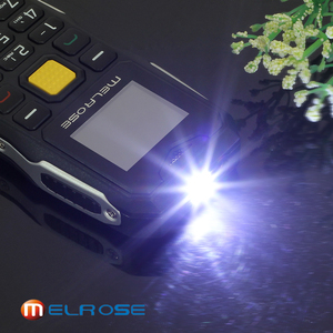 Image 3 - メルローズミニ軍事ポケットバー電話ロングスタンバイビッグ音声懐中電灯 fm シングル sim 最小サイズスペア携帯電話 P105