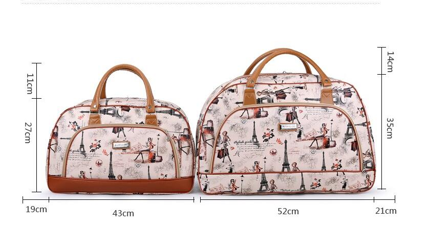 a2ee97a248dc Duffle Bag Woman Water Proof Travel Bag Girl Weekender Bags Travel ...