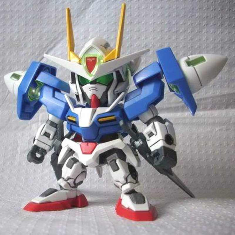 Detail Feedback Questions about SD Gundam Puzzle Model 9cm