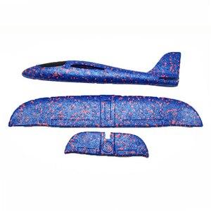 Image 5 - DIY 子供の手の飛行玩具大型グライダー航空機投げる発泡プラスチック飛行機モデルおもちゃ頑丈な子供のゲーム少年のギフト 2019