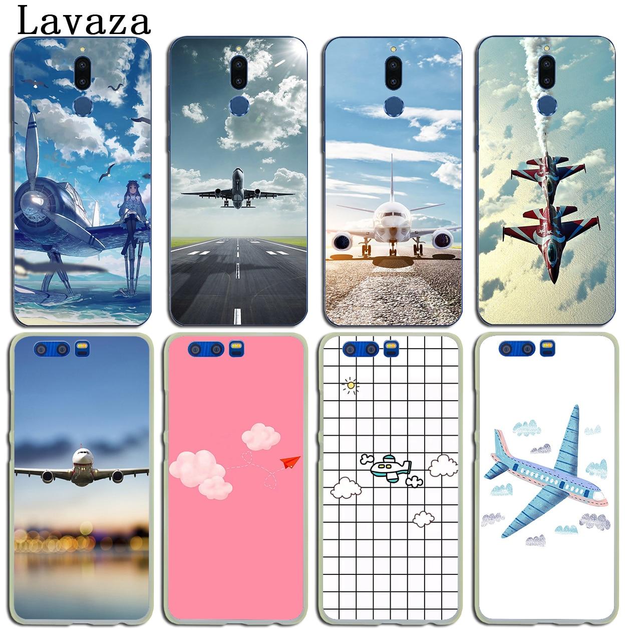 Lavaza aircraft sky airport Anime Hard Case for Huawei Y6 Y5 Y3 II Y7 2017 Nova 2 Plus 2S 2i Honor 9 8 Lite 6 6A 6X 7 7X