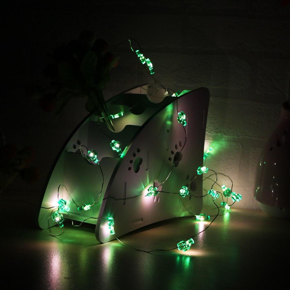 Lights & Lighting Lighting Strings Nice Led Garland Outdoor Gerlyanda Christmas Coconut Tree Cactus Potted String Lights Decor For Garden Wedding Holiday Party Birthday