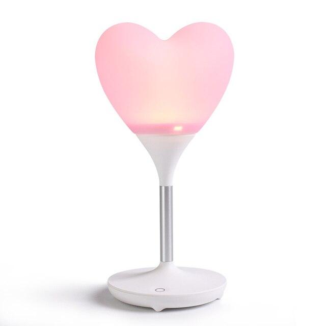 Love Heart Balloon Light Led Night Light Charging Babies Lamp Wireless Energy-Saving Lamp Led Bedroom Lamp Reading Lamp Light