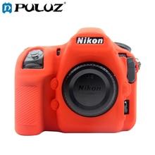 PULUZ Soft Case For Nikon D850 D750 D7200 Silicone Case Anti-Slip Shockproof Protective Case For Nikon D850 D750 D7200 фотоаппарат nikon d7200 body