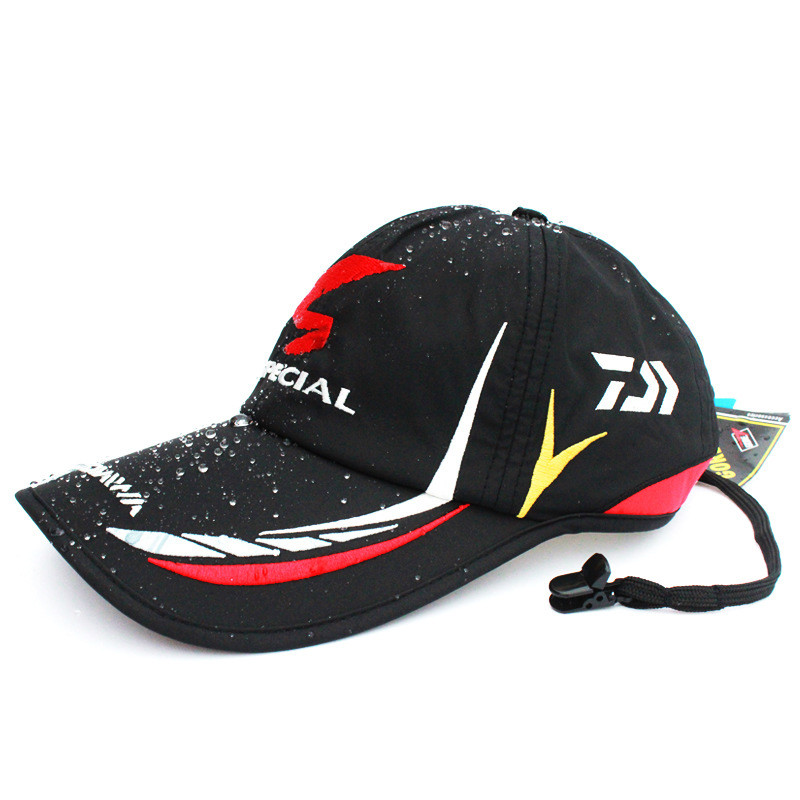 Waterproof Adjustable Adult Men Breathable Comfortable Outdoor Fishing Daiwa Japan Sunshade Sport Baseball Fishermen Hat Cap lo 061701