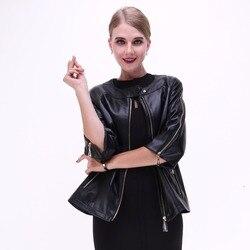 2017 spring women estate 100 real natural sheepskin coat genuine leather jacket women s short paragraph.jpg 250x250