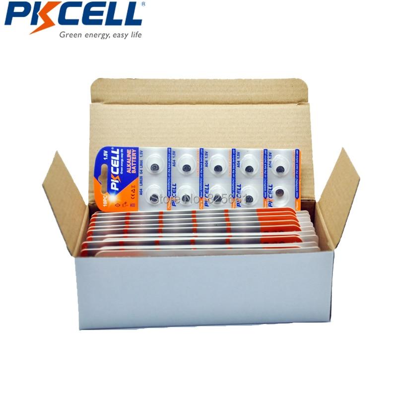500Pcs 50Card AG4 Alkaline Button Coin Battery LR66 177 626 LR626 Batteries For Bullets Eggs Watches