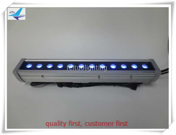 Wholesale 10pieces/lot 0.5m length rgbw led bar dmx 12x10w 4in1 led wall washer, dmx rgbw wall washer 10 pieces lot wholesale price brazilian