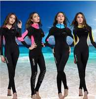 Women Men Lycra Surfing Wetsuits One Piece Scuba Diving Suit Full Body Swimwear Plus Size Long Sleeve Spearfishing Hooded Cloth