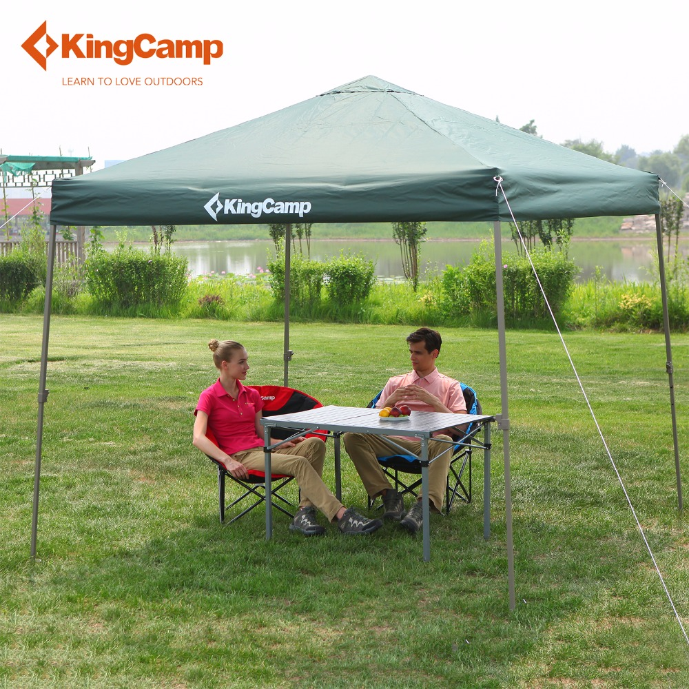 KingC& Portable Easy up Sun Shelter Top Grade Outdoor Canopy Tent for Patio Party Picnic Commercial Fair Shelter Car Shelter-in Sun Shelter from Sports ... & KingCamp Portable Easy up Sun Shelter Top Grade Outdoor Canopy ...