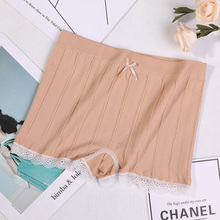 High Waist Panties Women Safety Shorts Pants Solid Colors Seamless Briefs for