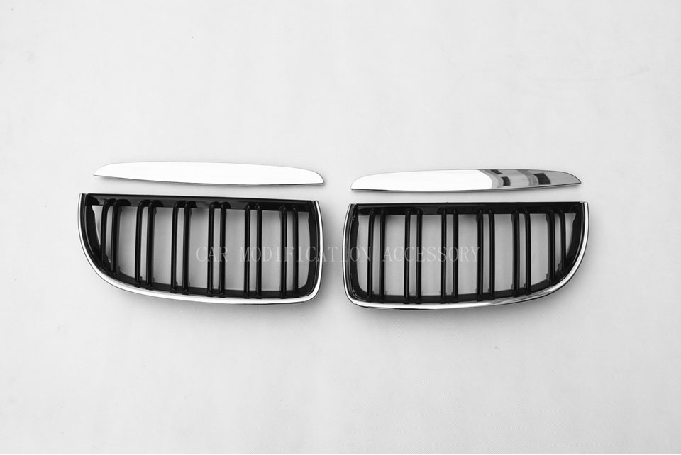 VOE E90 Pre LCI M style Chrome Car styling Front Racing Grill Grille for BMW 3 Series 320i 323i 325i 328i E90 2005 2008