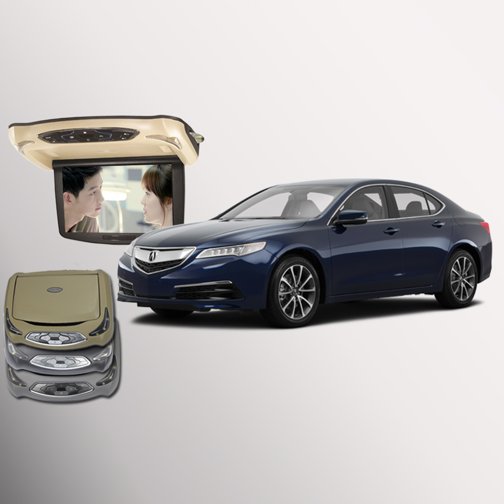 Acura Tlx Pricing: BigBigRoad For Acura TLX Car Flip Down Monitor LED Digital Screen Overhead Multimedia Video