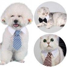 Wholesale 10pcs/lot Various Cat Dog Bow Tie Collar Necktie for Small Pet Accessories S L