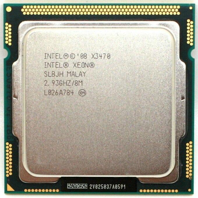 intel Xeon X3470 Processor 8M Cache 2 93 GHz SLBJH LGA1156 CPU equal i7 870 working intel Xeon X3470 Processor 8M Cache 2.93 GHz SLBJH LGA1156 CPU equal i7 870 working 100%