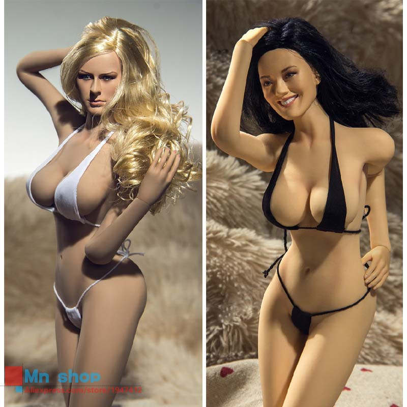 1:6 PHICEN Super-Flexible Female Seamless Body with Stainless Skeleton PLLB2014-S05 S06 Big Bust Size Sexy Figure Doll Toys free shipping phicen 11inch1 6 super flexible female seamless body with stainless steel skeleton with asian head model body doll