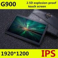 Бесплатная доставка Android 7,0 G900 Octa Core 10 дюймов Tablet PC 4G B Оперативная память 6 4G B Встроенная память 8MP WI FI A GPS 3g 4G LTE 2.5D закаленное Стекло ips