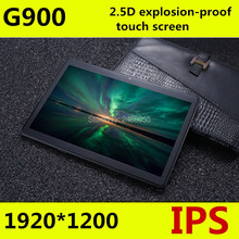 Free shipping  Android 8.0 G900  Octa Core 10 inch Tablet PC 4GB RAM 64GB ROM 5MP WIFI A-GPS 3G 4G LTE 2.5D Tempered Glass IPS