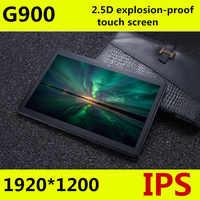 O envio gratuito de Android 8.0 Octa Núcleo 10 G900 polegada Tablet PC 5MP 64 4 gb RAM gb ROM WIFI A-GPS 3g 4g LTE 2.5D IPS de Vidro Temperado