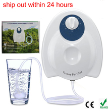 Portable Ozone sterilizer Air and Water Purifier Multifuctional Ozone Generator AC110v  for Air Purification/ food Preparation