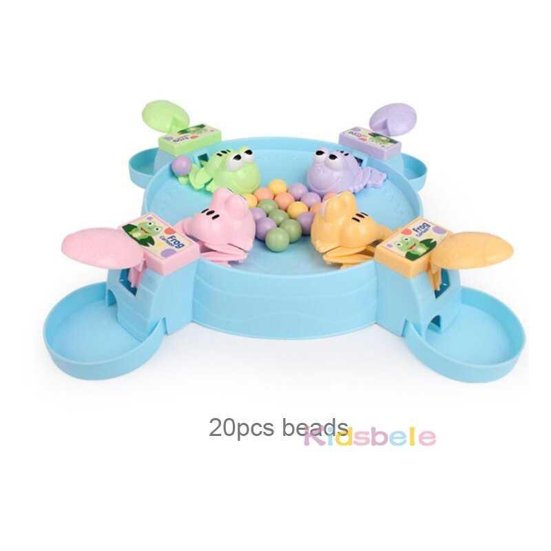 Rana hambriento comiendo frijoles niños tablero de estrategia juegos juguete familiar interactivo alivio del estrés juguetes interesantes juegos
