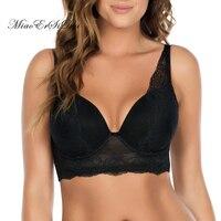 Sexy Lace Bra Bralette Push Up Bras For Women Soutient Gorge Plus Size 30 46 D