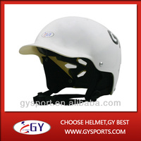 GY White ABS injection water sports helmet out shell floating helmet kayak canoe eva mtb CE certificate