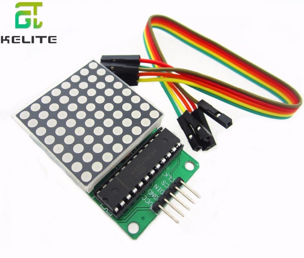 MAX7219 dot matrix modul mikrocontroller module control modul display modul fertig waren