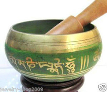 Brass Buddhism Singing Bowl 85mm 100% Brass Buddhist Superb Tibetan Gong copper Wholesale bronze Bowls Striker price Factory|bowl hangers|copper price|copper gas - title=