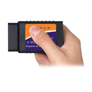 Image 4 - ELM 327 obd2 scanner V1.5 pic18f25k80 wifi elm327 obd ii leitor de código de diagnóstico do carro do bluetooth elm327 obd usb cabo 10 pçs/lote