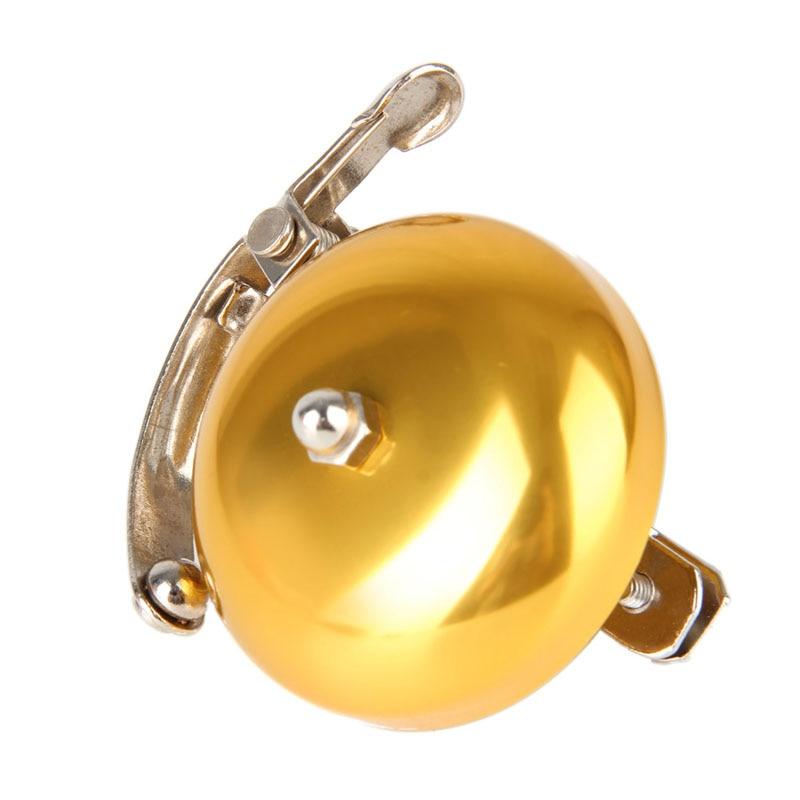 1 PC Retro Bike Ring Bicycle MTB Bell Sound Alarm Safety Warming Gold
