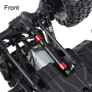 Image 5 - INJORA 2PCS TRX4 Metal CVD Drive Shaft for 1/10 RC Rock Crawler 324MM Wheelbase Traxxas TRX 4 RC Car