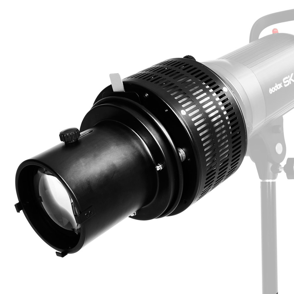 Usine prix de Focaliser Conique Coupe-Flux Photo Optique Condenseur Art Effets Spéciaux En Forme de Faisceau Lumière Cylindre Bowens/elinchrom