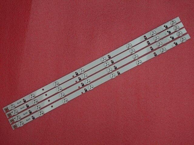 LED stirp para Samsung UE32EH4000W, D1GE 320SC0 R3, R2, BN96 24145A, BN96 24166A, 32h 35led 32ea, 2011SVS32, 3228, 4 Uds.