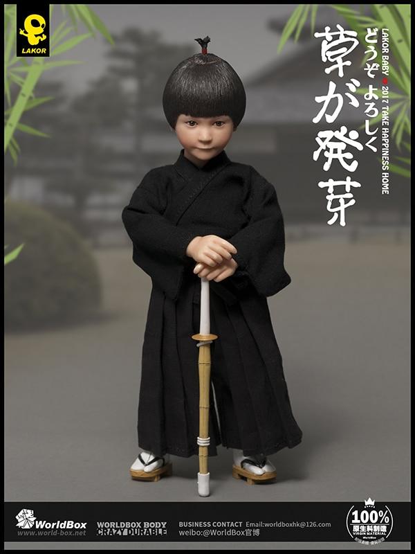 WorldBox Lakor bebé Kendo niño 1/6 figura de acción-in Figuras de juguete y acción from Juguetes y pasatiempos    1
